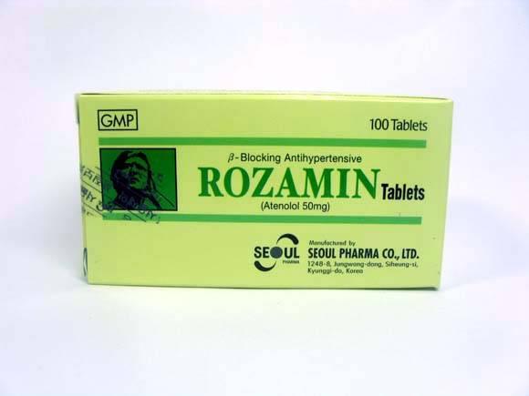 Medicine (ROZAMIN Tablets)