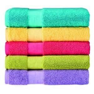 Cotton Dyed plan Bath Towel size 70 x 140 CM