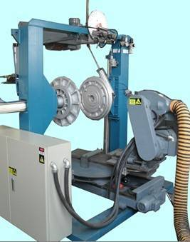 Tire buffing machine(two-arc)