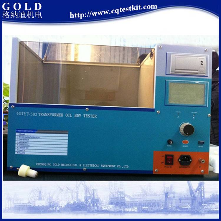 GDYJ-502 ASTM D877 1816 Insulating Oil Breakdown Voltage Tester