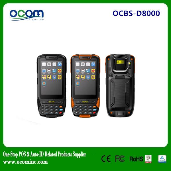 OCBS-D8000: handheld mobile terminal data collection terminal scanner PDA