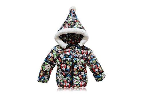 hot selling grid fur collar pure cotton twill weave adult down coat cotton children coat teflon