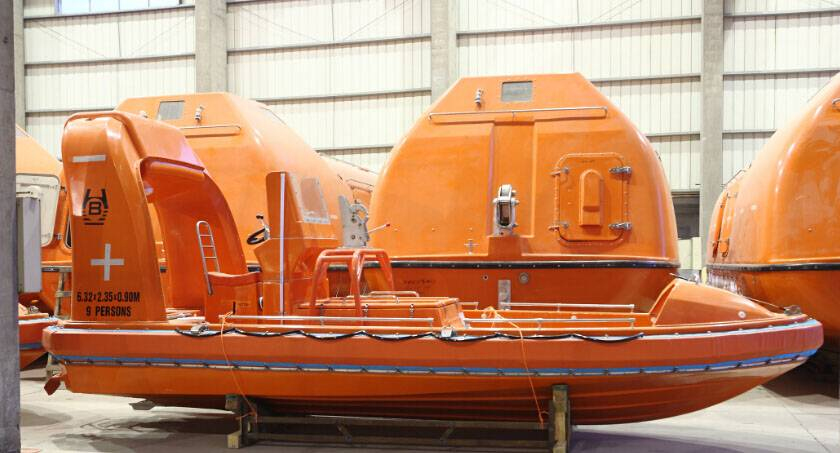 Factory price for Fast rescue boat with davit