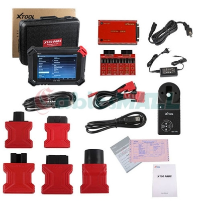 XTOOL X-100 PAD2 Full Programmer with KC100 4th 5th IMMO Adapter