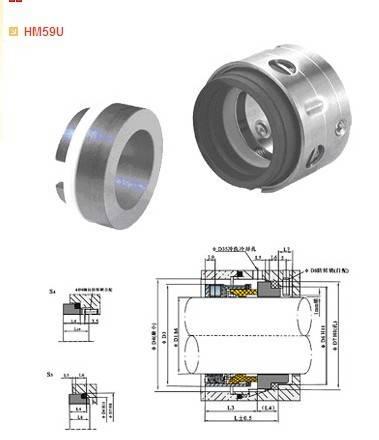 O-ring mechanical seals series