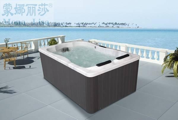 Sell 2013 Newest style hydromassage fiberglass pool shell hot tubs M-3374