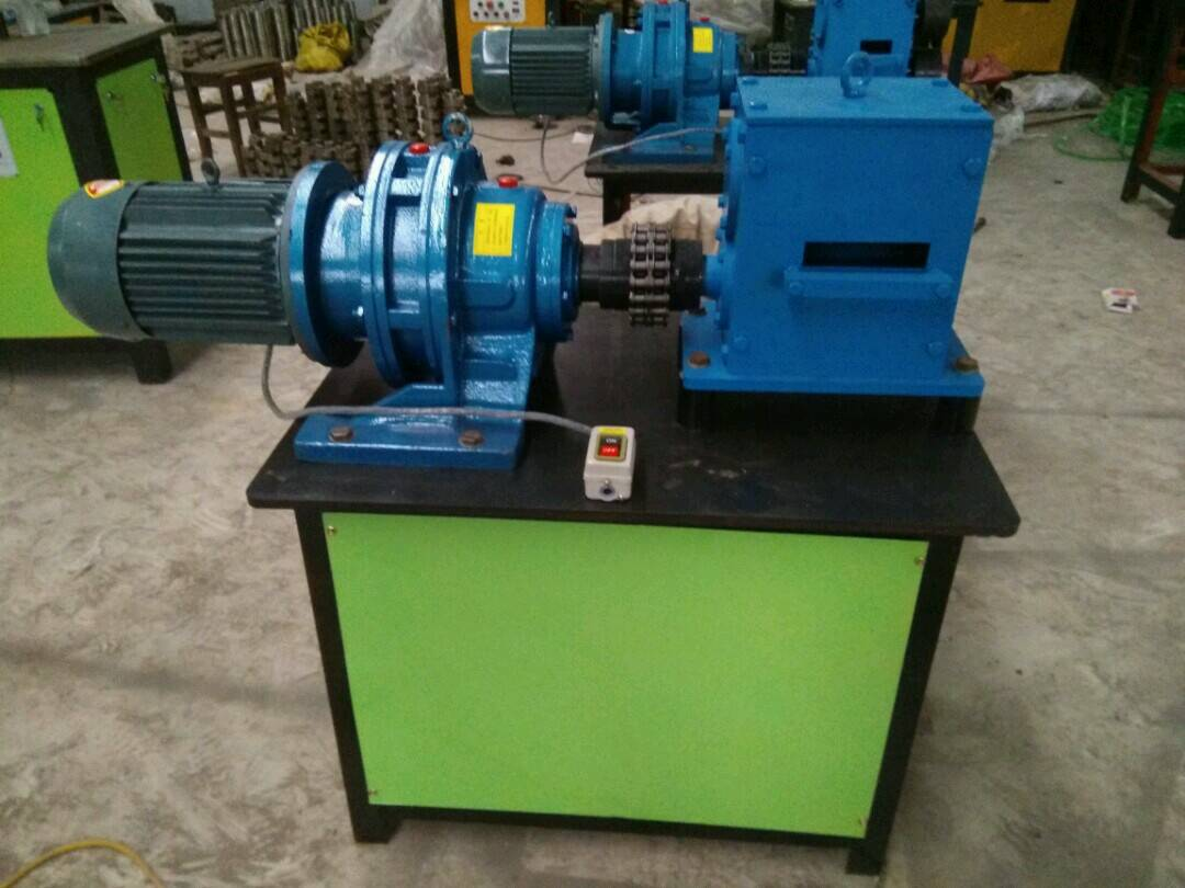 wrought iron machine of end hot forging machine