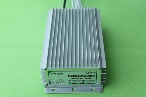 Waterproof 12V Led Power Supply For LED grow light / Flashlight 200W