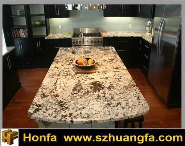 Bianco Antico Granite Countertops and Island Benchtop For Kitchen