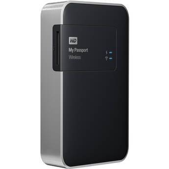 Western Digital WD 2TB My Passport Wireless WIFI Storage External Hard Drive Disk HDD