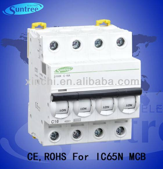 ACTI 9 Series Mini MCB Circuit breaker with 1P, 2P, 3P, 4P 1A to 63A