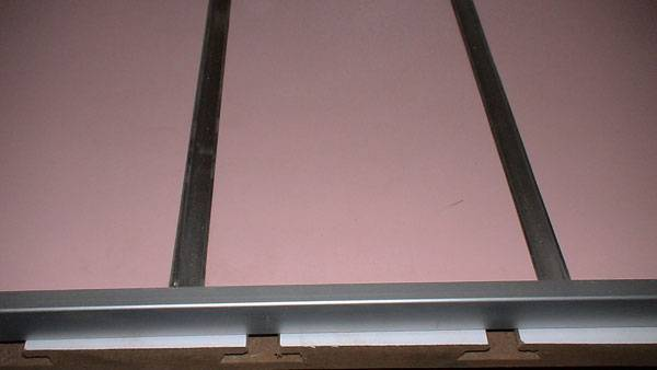 MDF Grooved board/Grooved mdf board from Rongye Industry China shopfitting supplier
