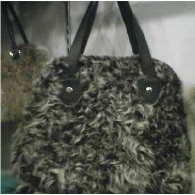 Sheep Fur Handbag