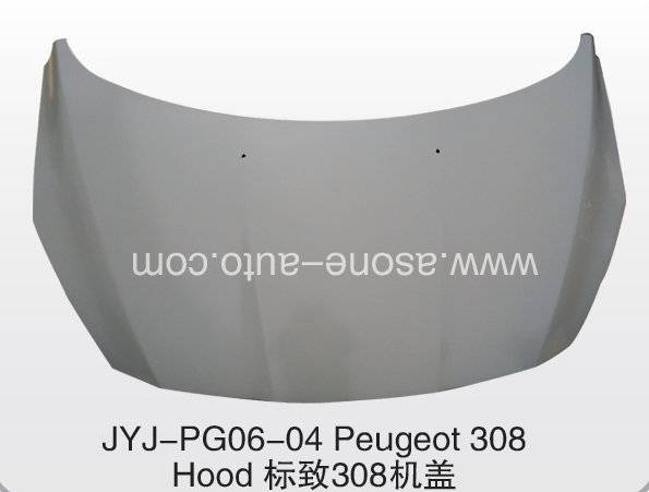 ASONE HOOD/BONNET For Peugeot 308 Auto Body Parts