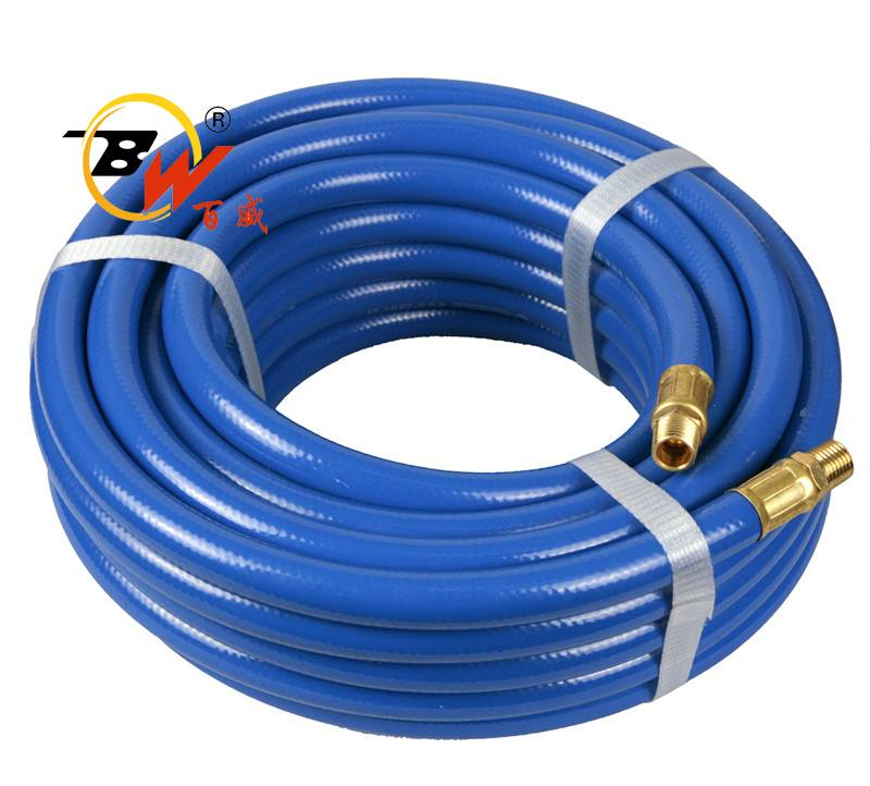 18mm Braided PVC air hose fiber reinforced plastic pipes