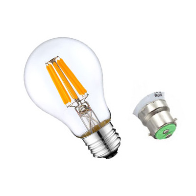 A19 A60 LED Filament Light Bulb 8W
