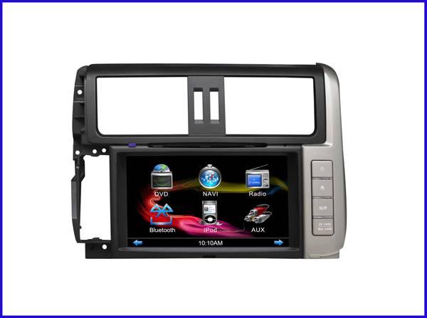 TOYOTA 2012 prado car DVD player/car dvd player gps navigation with bluetooth/DVD/Gps/TV
