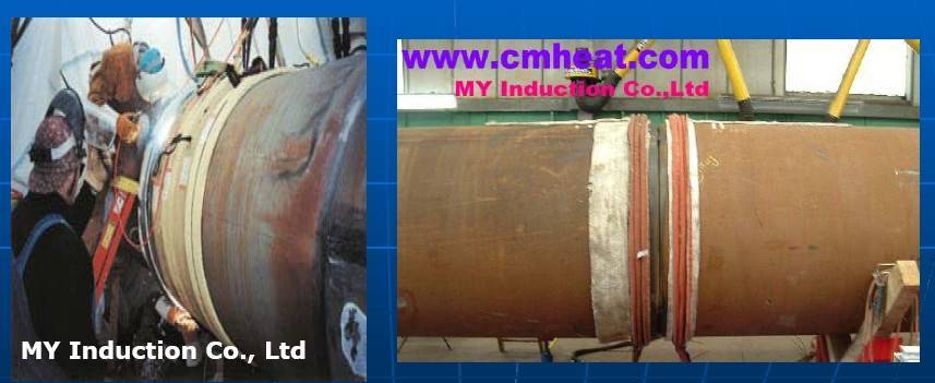 induction pre heating & post weld heating treatment equipment