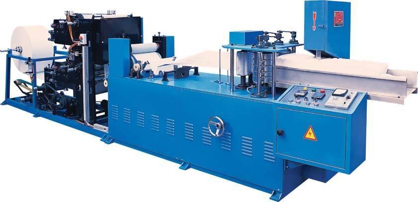 Automatic Folding Napkin Paper Machine (two color)