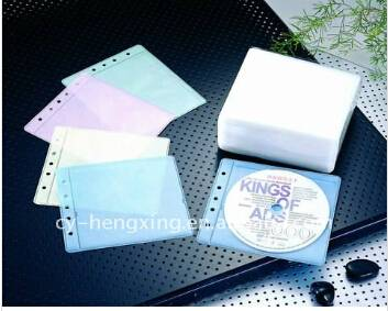 Nonwoven CD Sleeve With Various Color