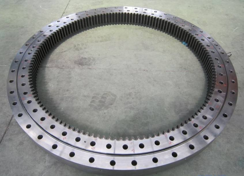 heavy equipment double row ball external gear slew ring bearing