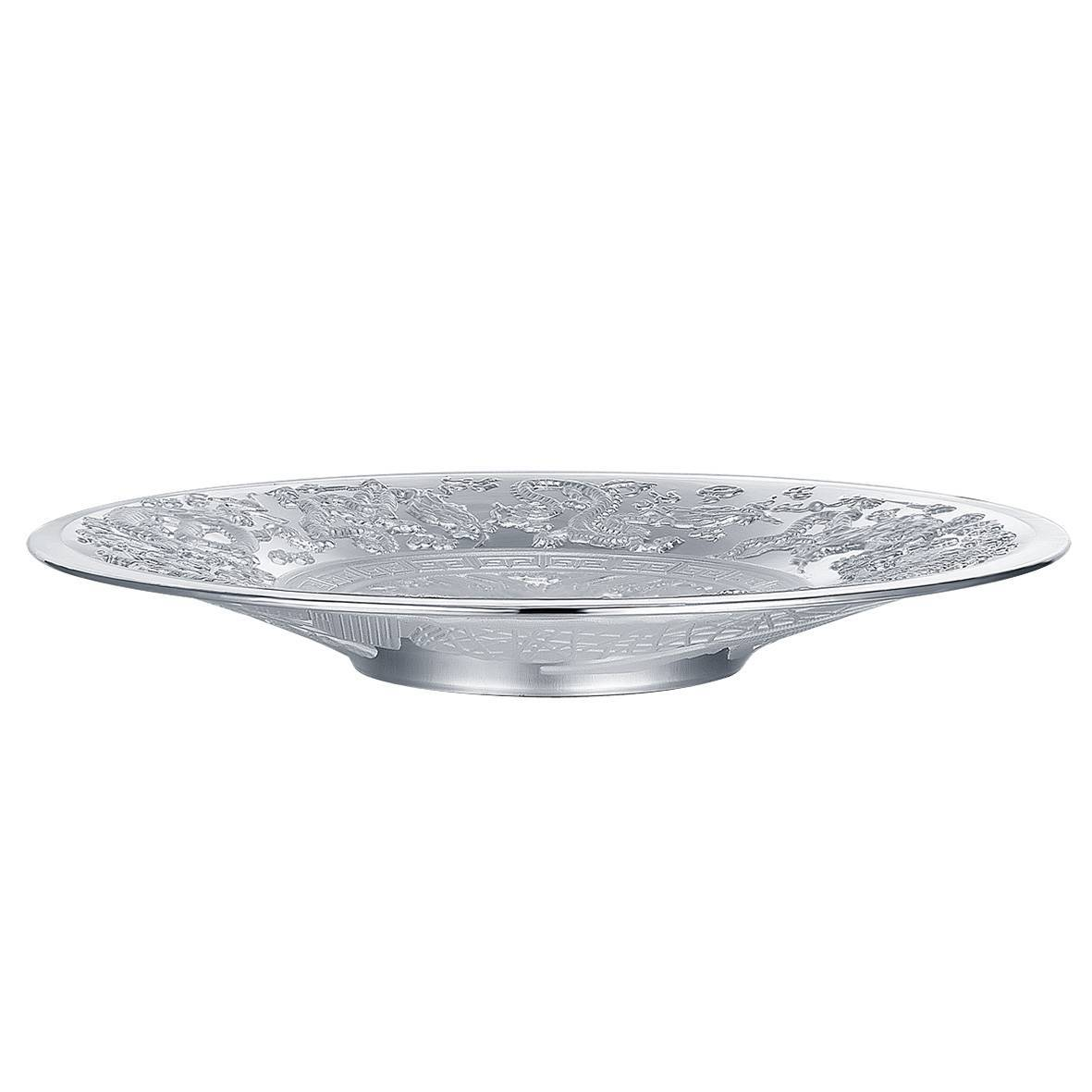 925 sterling silver saucer/plate for tableware