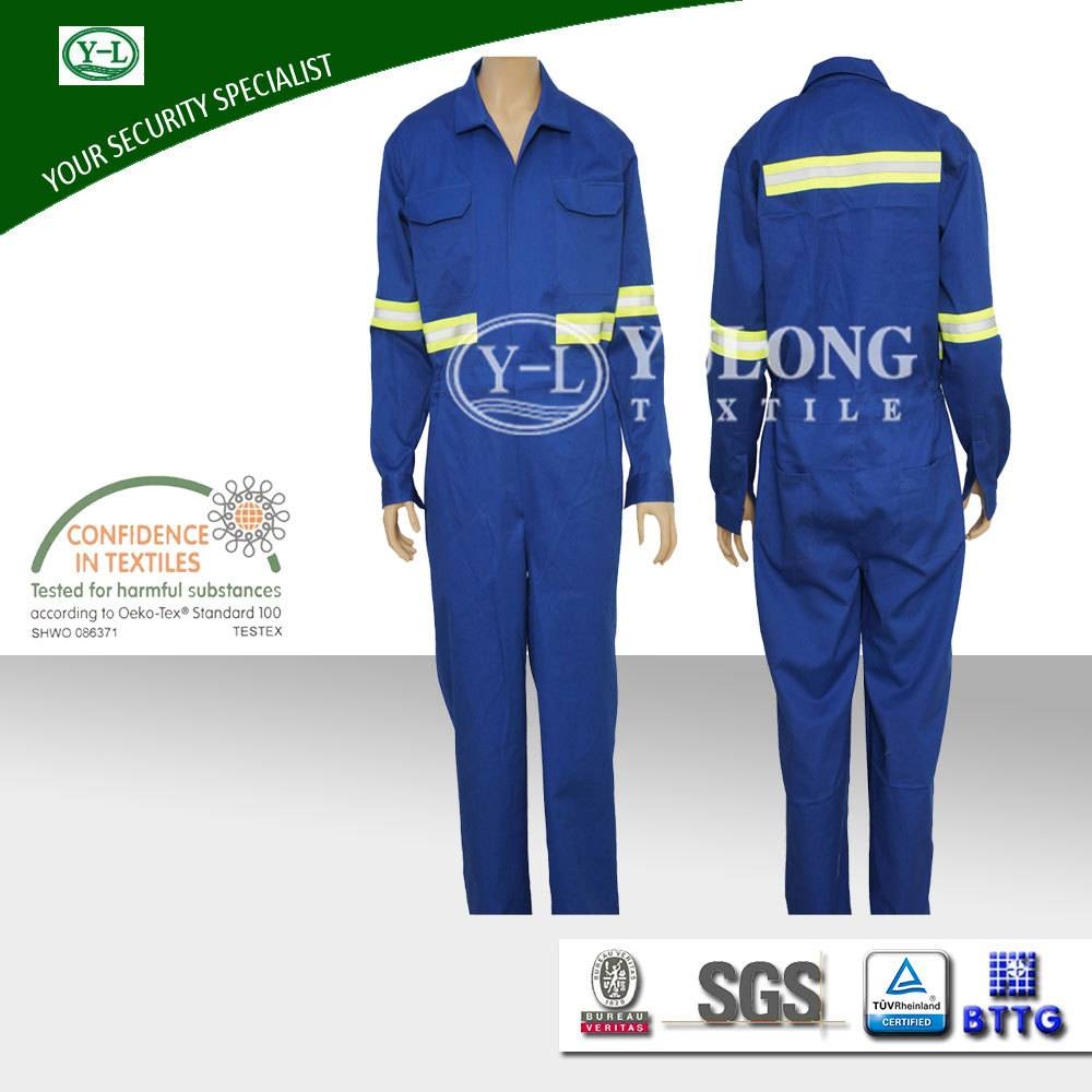 wholesale safety washable aramid EN11611 fire retardant overalls for workman