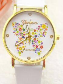 Trendy bling bling ladies watches