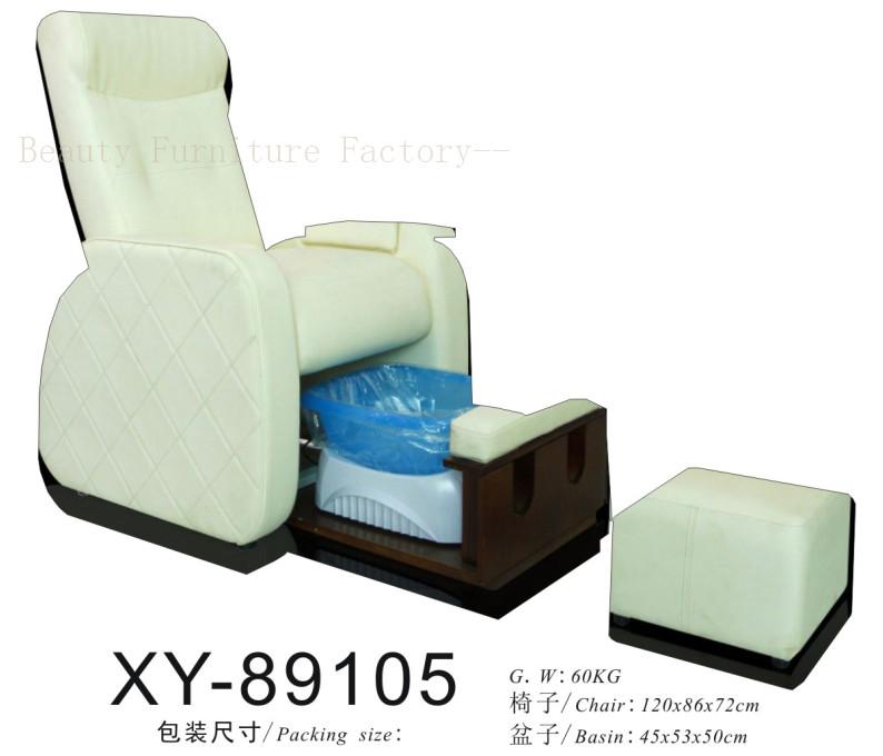 Salon Spa Pedicure Chair hiddenable sink XY-89105