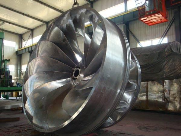 Waterpower francis turbine generator runner/wheel