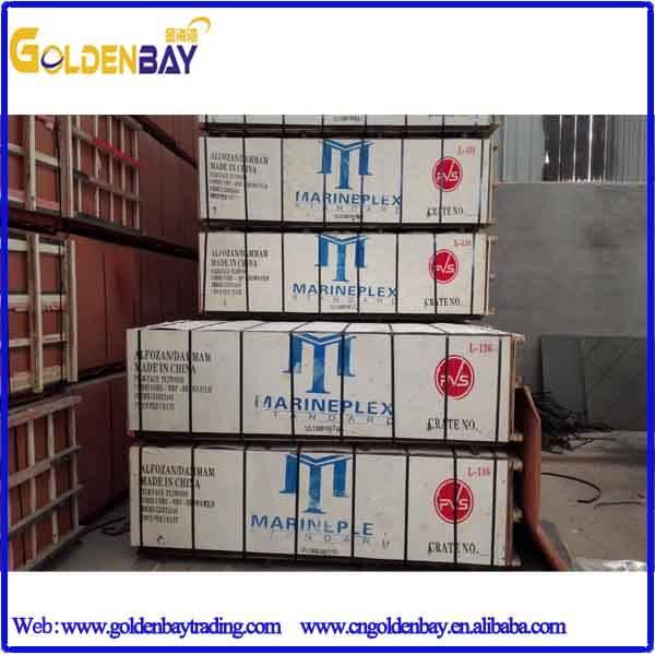 China Linyi Marineplex film faced plywood sheet/panel