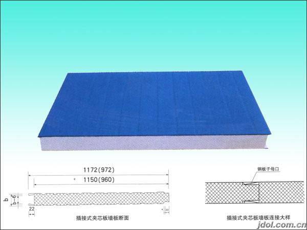 sandwich panel drawing