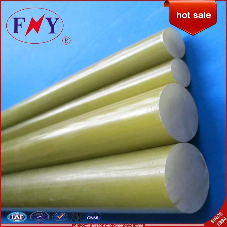 High Voltage Fiberglass Solid Rod/Fiber glass stick