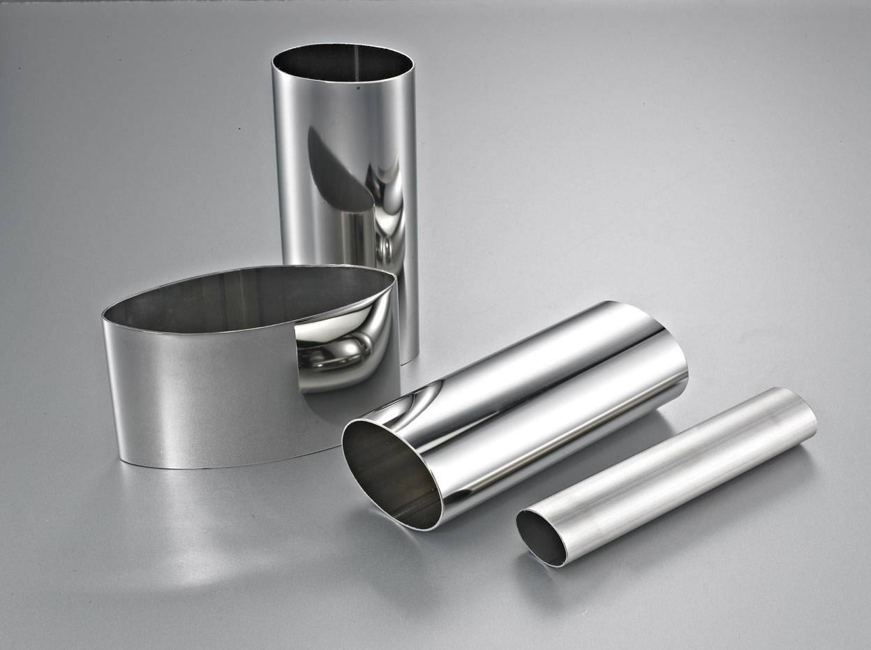 Stainless steel oval tube