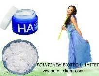 Cosmetic grade Hyaluronic acid