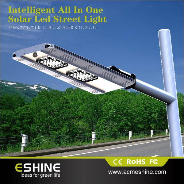 ELS-07 All in one energy saving solar street light with 20pcs led and 13200 lithium battery