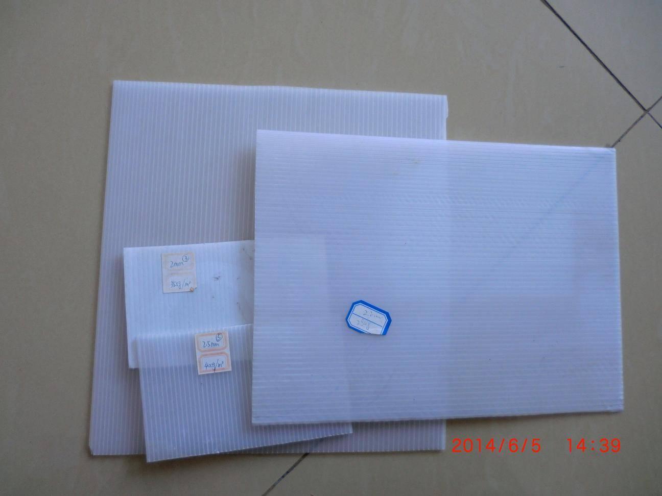 plastic hollow sheet