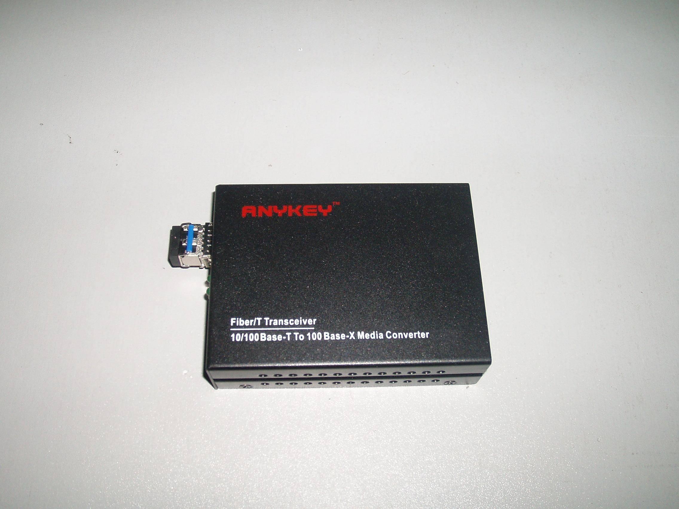 10/100/1000M and 1000M SFP Media Converter