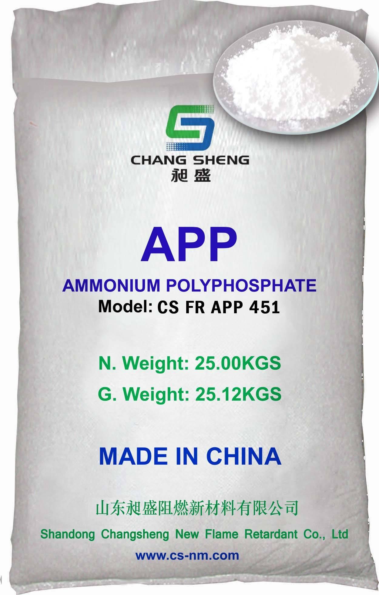Silane Coated Ammonium Polyphosphate 451