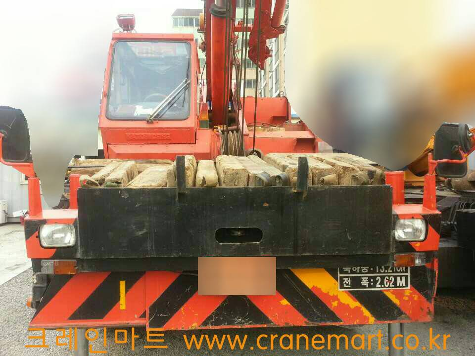 Used 25T KATO R/T Crane KR25H-V(SR250) 1991