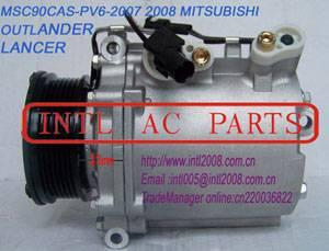 Compressor MSC90CAS MITSUBISHI OUTLANDER LANCER 2007-2008 OEM#AKC200A221 7813A068 AKC200A564