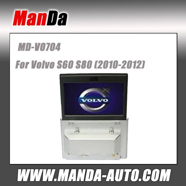 car dvd for Volvo S60 S80 (2010-2012) car dvd radio audio video factory multimedia navi