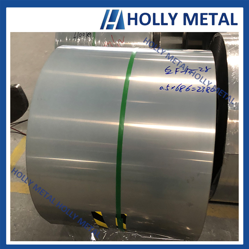 Cold Rolled Stainless Steel Coil 201 2B BA DDQ High Copper