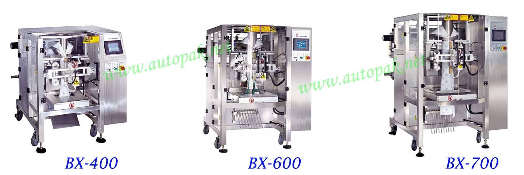 BX Series High Speed Vertical Form Fill Seal Machine