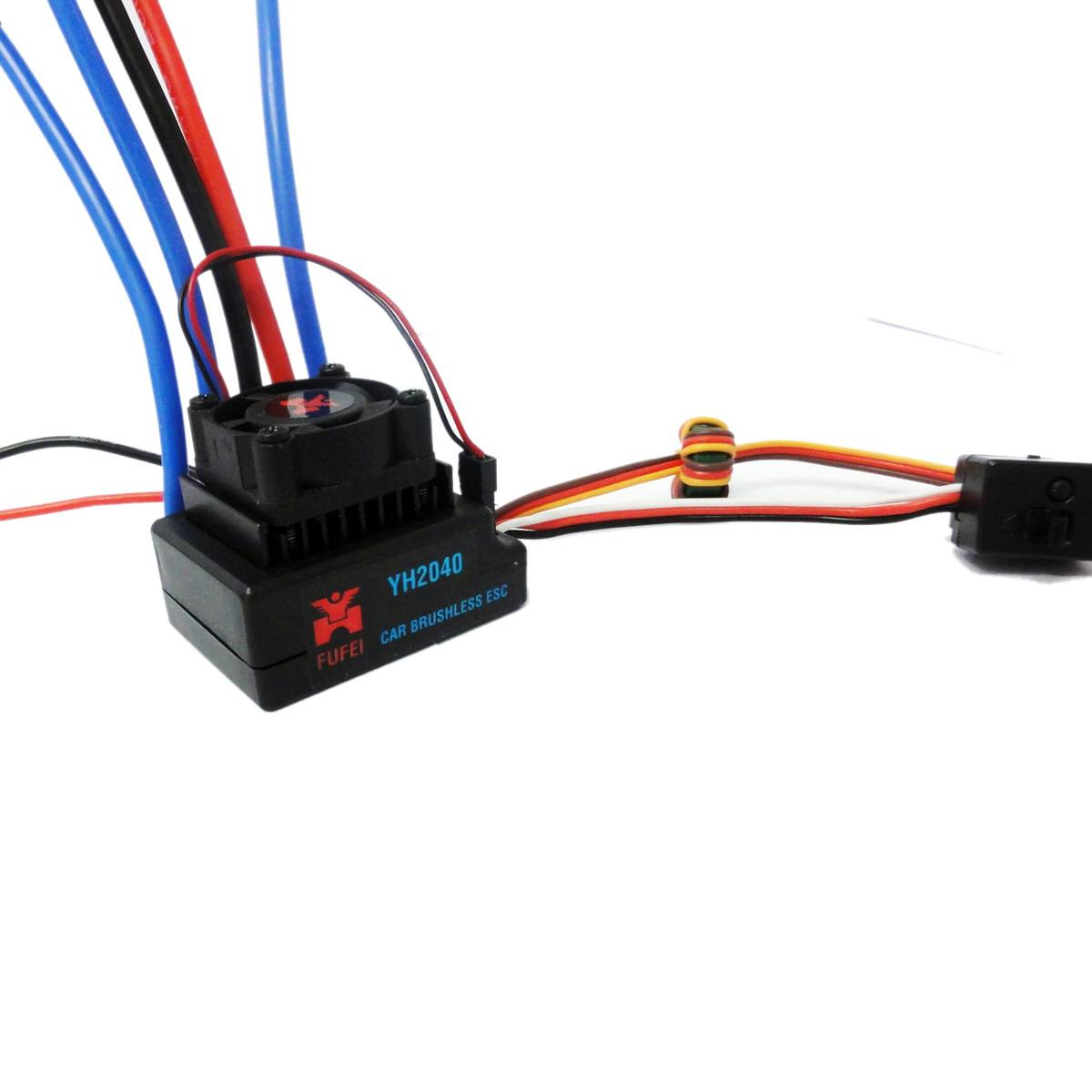 40a brushless esc for 1/12 scale car model