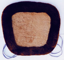 comfortable Sheepskin cushion