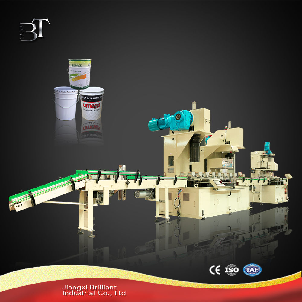 Automatic tin can packing machine