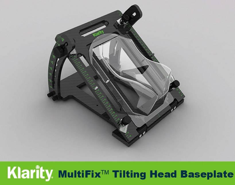 Carbon Fiber Tilting Head Baseplate Klarity Radiotherapy Baseplate
