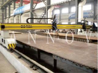 Carbon Steel CNC Gantry Wire Plasma Steel Cutting Machine