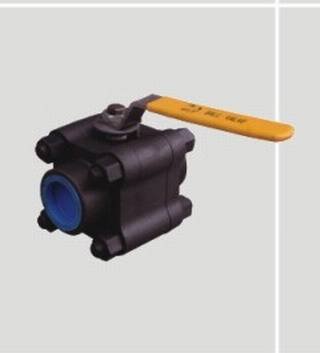 Forged Steel 1/2 or 3-Piece Ball Valve